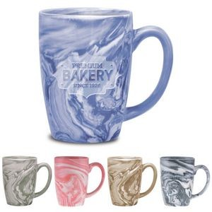 16 Oz. Palermo Collection Ceramic Mug- Etched